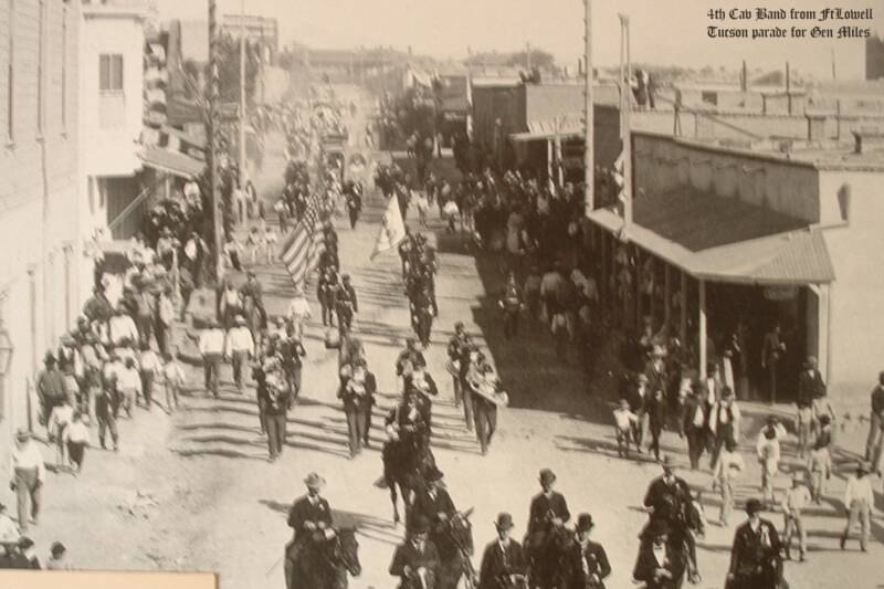 $th Cav Band & Gen Miles' parade (Tucson)