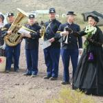 Nancy Hicks at Picacho Peak for Ray Hicks Tribute