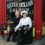 John and Sharlot at Trail Dust Town