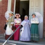 Ladies of the Regiment at Tombstone Courthouse